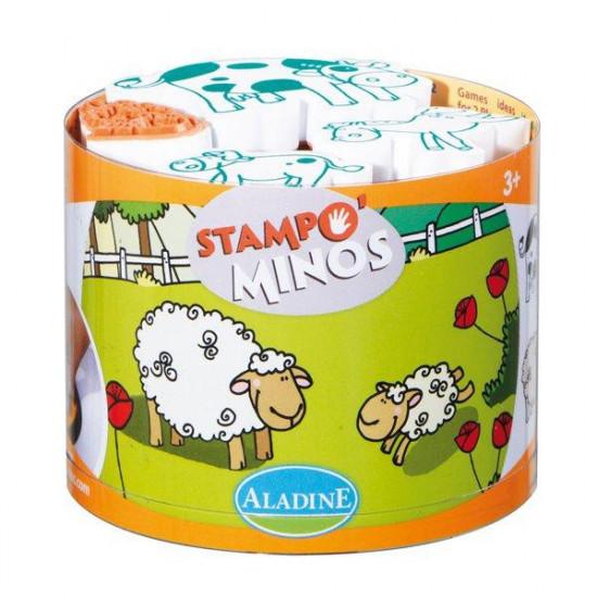 Dětská razítka StampoMinos - Domácí zvířátka