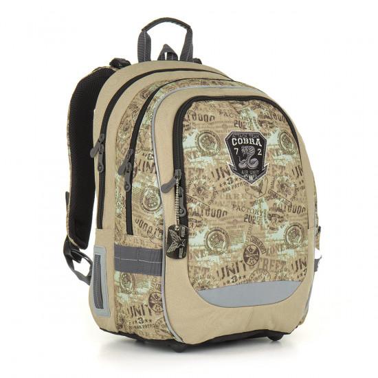Školní batoh TOPGAL - CHI 872 K - Brown 6d43d7da12