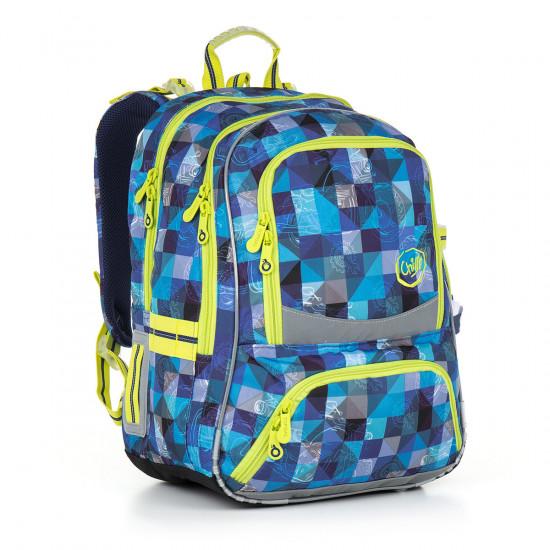 Školní batoh TOPGAL CHI 870 D - Blue 42c3c171bc