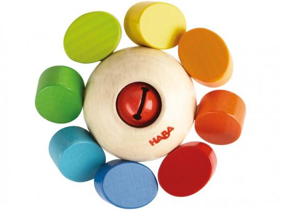 Chrastítko - barevný kolotoč