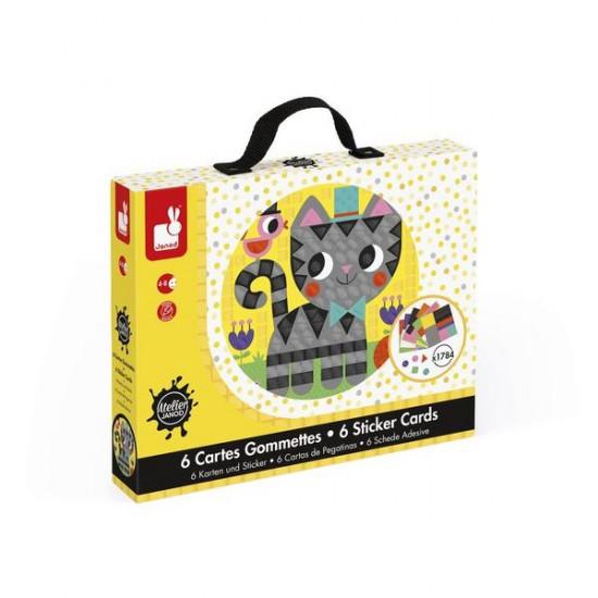 Ateliér v kufříku - Zvířátka - mozaika