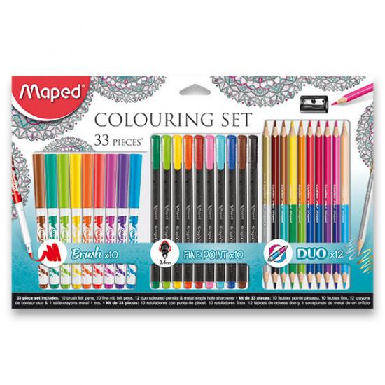Výtvarná sada Maped Colouring set - 33 kusů