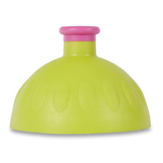 Náhradní víčko na Zdravou lahev, světle zelená/fialová