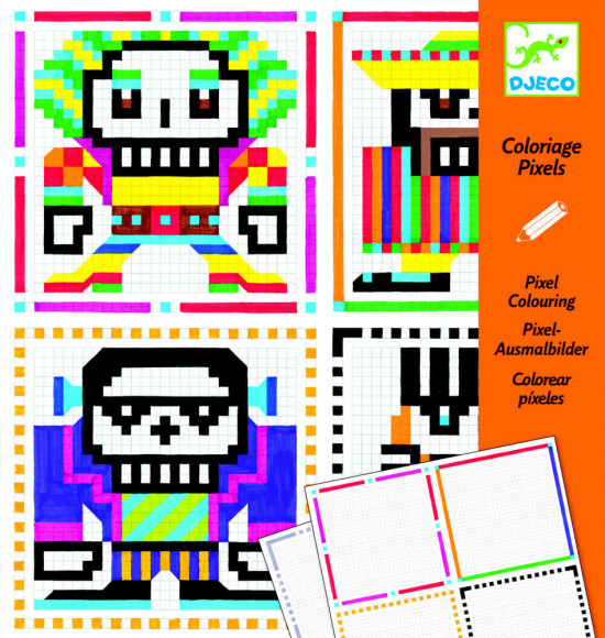 Pixel art - pro kluky