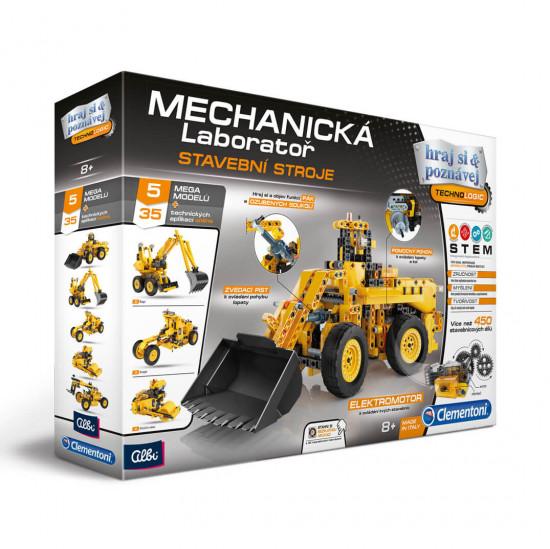 Mechanická laboratoř - stavební stroje - experimentální sada