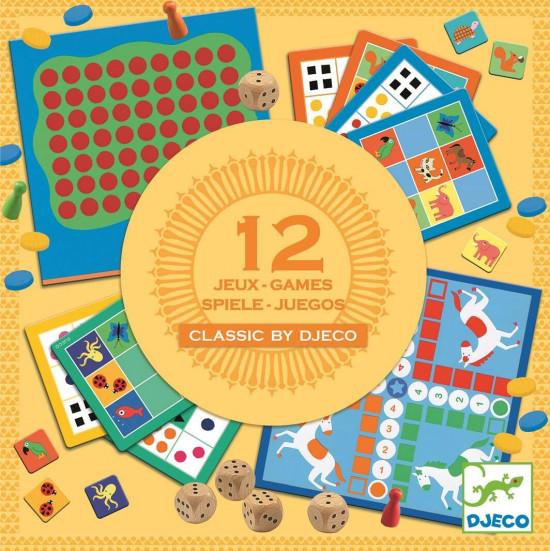 Soubor 12 klasických her pro nejmenší
