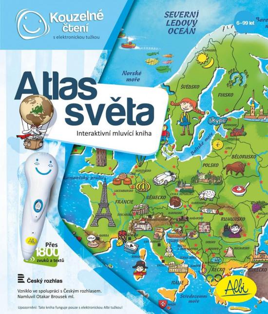 Kouzelné čtení - Kniha - Atlas světa