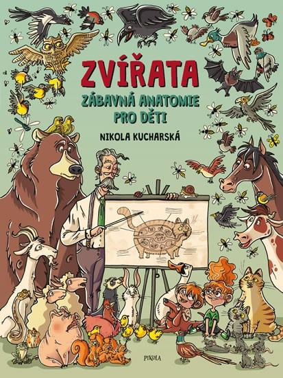 Zvířata - Zábavná anatomie pro děti