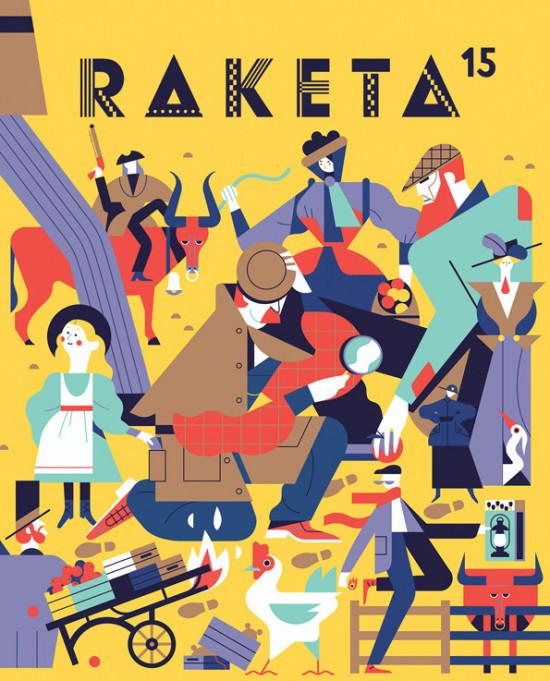 Časopis Raketa č. 15 - Detektivní číslo