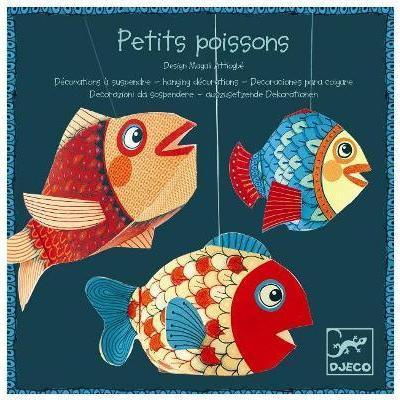 Závěsná papírová dekorace - Rybky