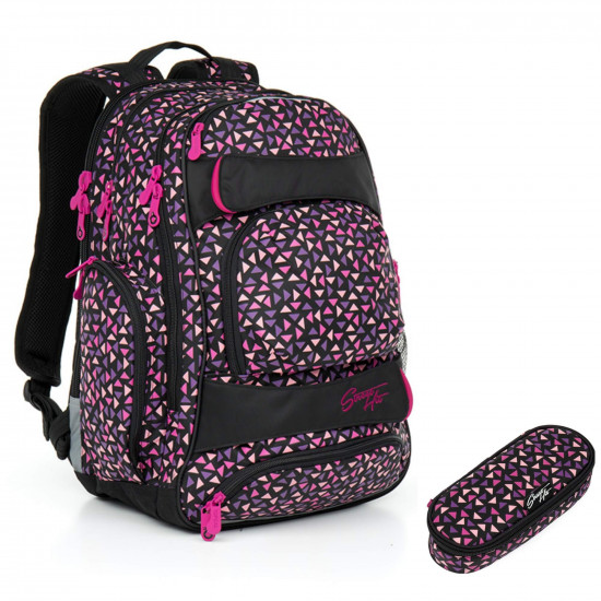 126ae7f3224 Studentský batoh a penál Topgal HIT 862 H + HIT 874 H