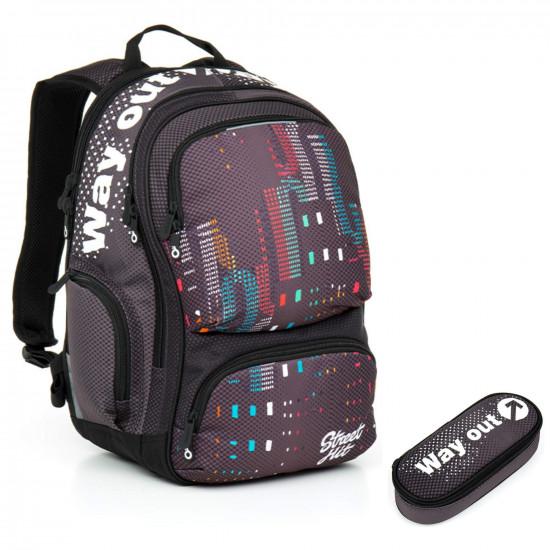 bdb6e538e45 Studentský batoh a penál Topgal HIT 865 C + HIT 877 C