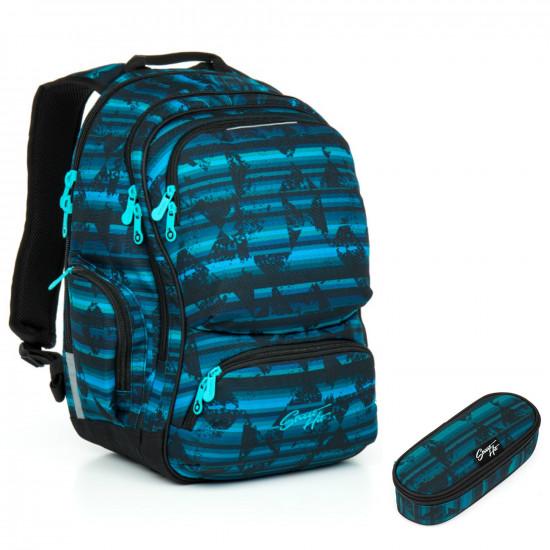 Studentský batoh a penál Topgal HIT 864 D + HIT 876 D