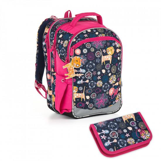 9434f358f14 Školní batoh a penál Topgal - CHI 876 D + CHI 909