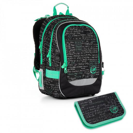 61253739829 Školní batoh a penál TOPGAL - CHI 866 A + CHI 889