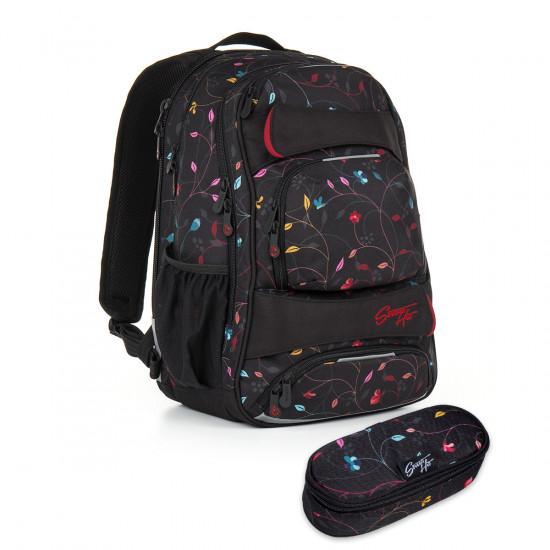 Studentský batoh a penál Topgal - HIT 885 A + HIT 899