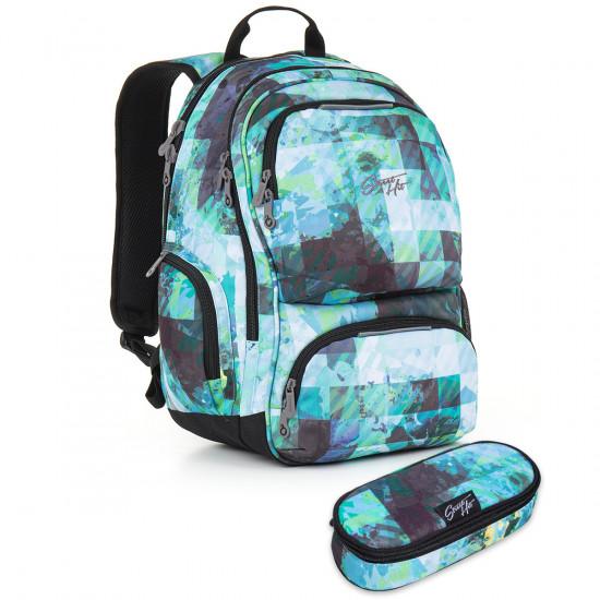 Studentský batoh a penál Topgal - HIT 890 D + HIT 904 5d3fda683f