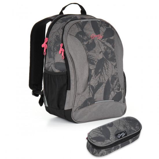 Studentský batoh a penál Topgal - HIT 892 C + HIT 906