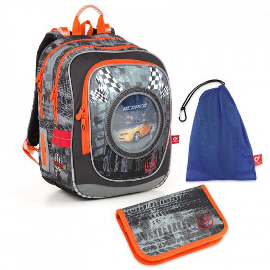 Školní set Topgal ENDY 18018 B - batoh + penál + pytlík na přezůvky 8061df1150