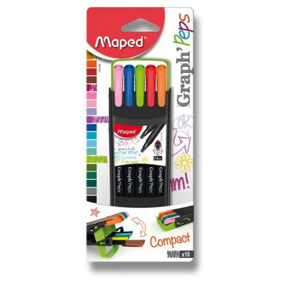 Linery Maped Graph Peps Compact, souprava 10 ks