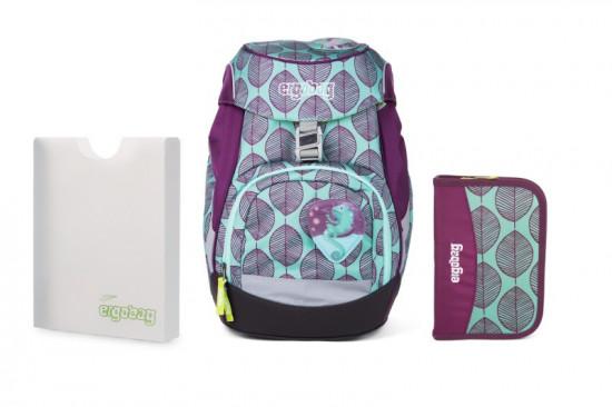 Školní set Ergobag prime zelený chameleon - batoh + penál + desky 7114169e2c