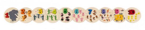 Puzzle - Učíme se číslice