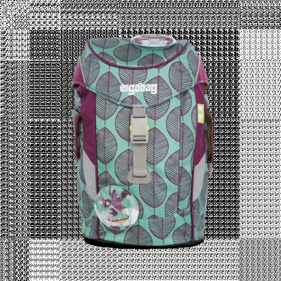 Dětský batoh Ergobag mini - fialovo zelený chameleon