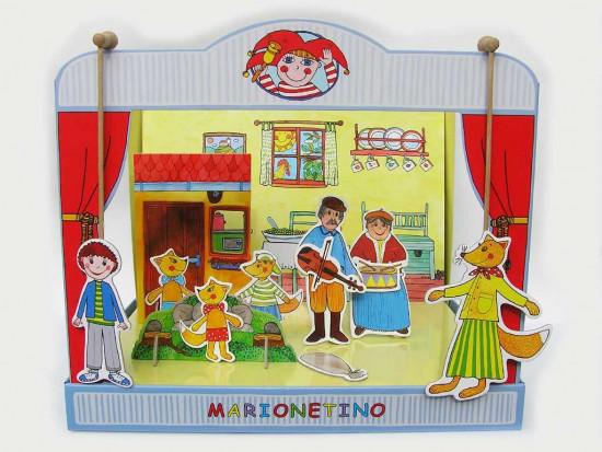 Marionetino - Loutkové divadlo - Trojpohádka Budulínek