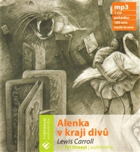 Alenka v kraji divů - audio na CD