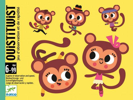Opičí tanec - karetní hra Djeco