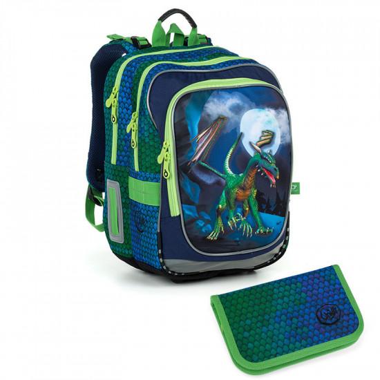 Školní batoh a penál Topgal ENDY 19013 B