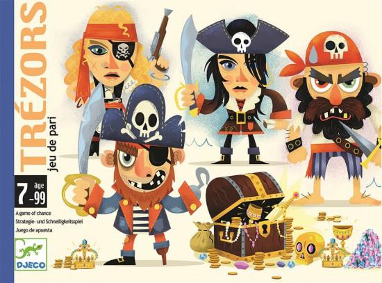 Pirátský poklad - karetní hra Djeco