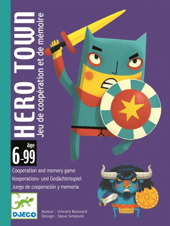 Město hrdinů - karetní hra Djeco