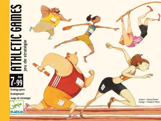 Atletické hry - karetní hra Djeco