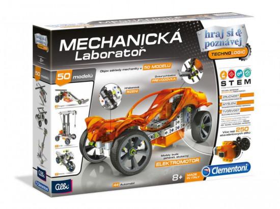 Mechanicka laboratoř - Auta - 50 modelů - 250 dílků