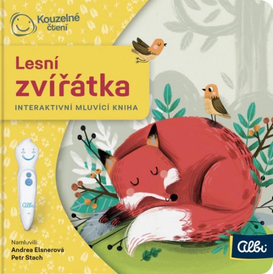 Kouzelné čtení - Minikniha pro nejmenší - Lesní zvířátka