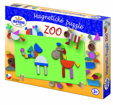 Magnetické puzzle - ZOO