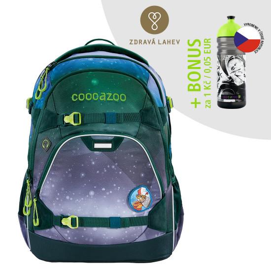 Školní batoh coocazoo ScaleRale, OceanEmotion Galaxy Blue + lahev za 1 Kč