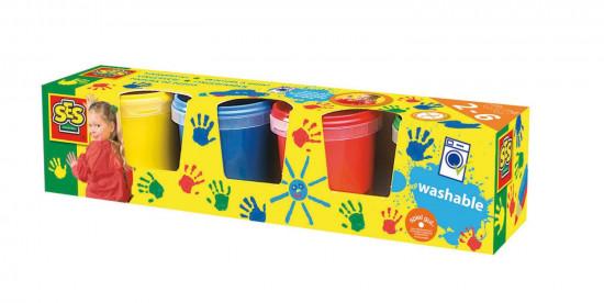 Prstové barvy - 4 x 145 ml