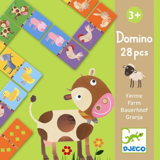 Domino - Zvířátka ze statku