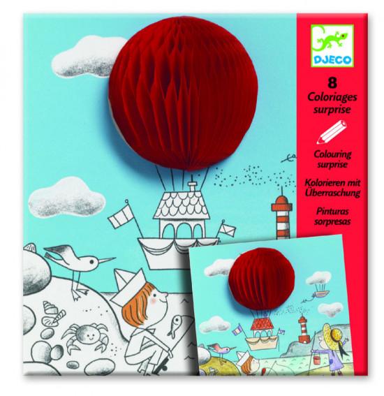 Prostorové omalovánky - Veselé balónky