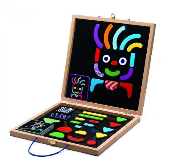 Magnetický kufřík - veselé postavy
