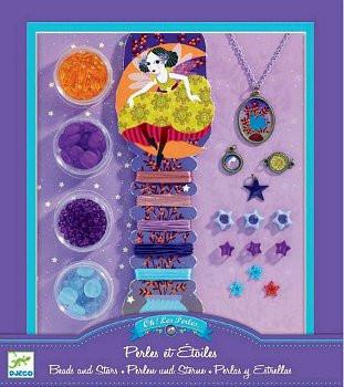 Sada na výrobu šperků - Perly a hvězdy