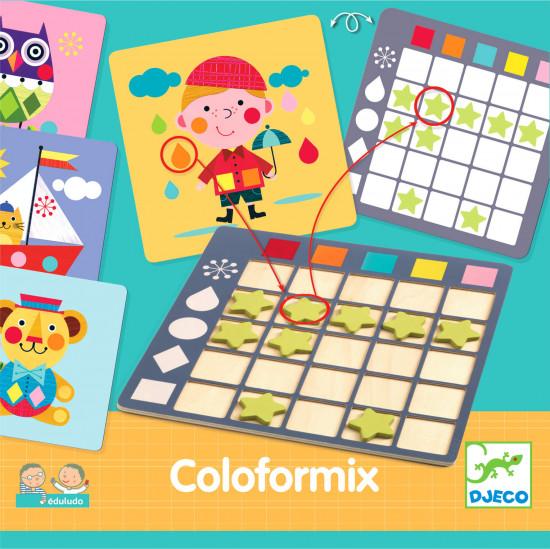 Coloformix - spočítej tvary a barvy