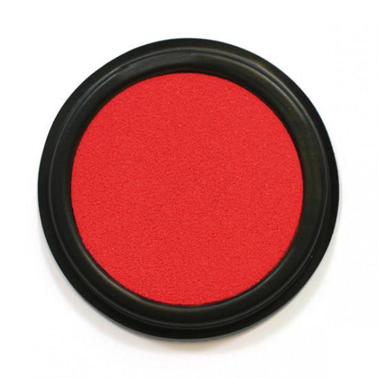 Textilní razítkovací polštářek, Červený