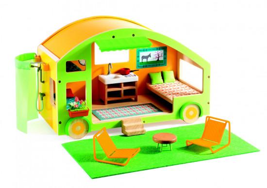Karavan - prázdninový domek pro panenky