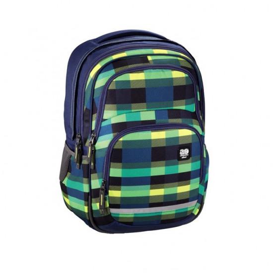 Školní batoh All Out Blaby, Summer Check Green