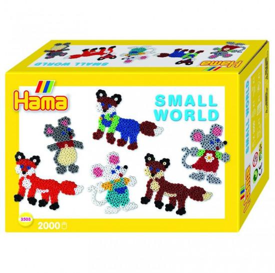 Hama Midi - malý svět - zvířátka z lesa - 2000 ks