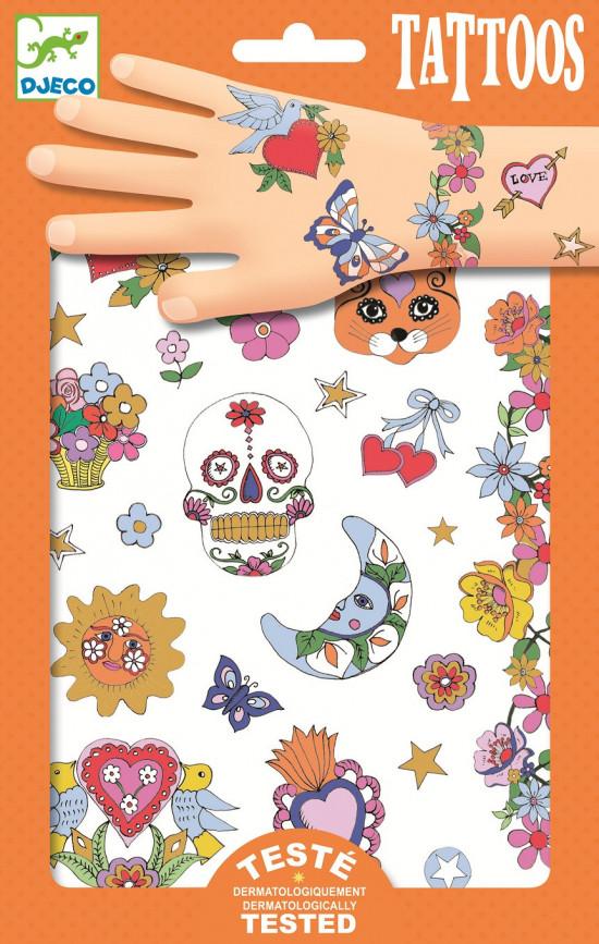 Tetování - mexická fiesta