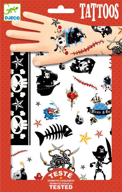 Tetování - piráti